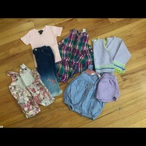 Other - 12 MONTH GIRL CLOTHES